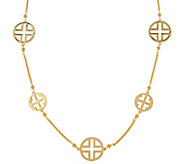 Linea by Louis DellOlio 36 Signature Logo Station Necklace - J320468