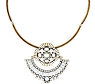 LOGO Links by Lori Goldstein Cleopatra Collar Necklace