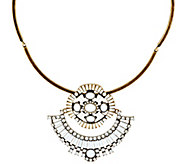 LOGO Links by Lori Goldstein Cleopatra Collar Necklace - J329468