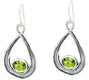 Sterling 2.00 cttw Pear Shaped Drop Earrings by Or Paz - J331468