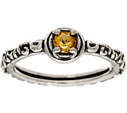 Carolyn Pollack Sterling Silver Simply Fabulous Gemstone Band Ring - J347068