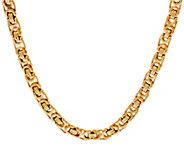 As Is 14K 18 Modern Status Byzantine Necklace, 15.2g - J348468