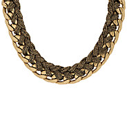 Joan Rivers City Glamour Chain Necklace w/ 3 Extender - J296069