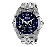 Armitron Mens Stainless Multifunction Blue Dial Sport Watch - J338769