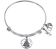 Extraordinary Life Sterling Seasons GreetingsBangle - J341669