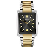 Bulova Mens Two-tone Stainless Steel BraceletWatch - J343569