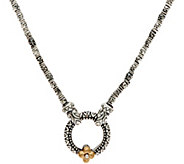 Barbara Bixby Sterling Silver 16 Market Chain Necklace - J346969