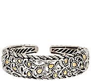 JAI Sterling & 14K Yellow Gold Bodhi Cuff Bracelet - J296670