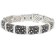 Michael Dawkins Starry Night Sterling Link Bracelet - J296970