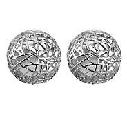 Adi Paz Mesh Ball Stud Earrings - J311970