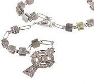 Connemara Marble Rosary Beads - J312370