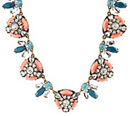 Joan Rivers Vintage Style Crystal Bee 18 Statement Necklace - J318970