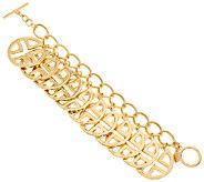 Linea by Louis DellOlio Signature Disc Charm Bracelet - J325470