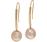 Honora Ming Cultured Pearl Drop Earrings 14K Gold - J348470