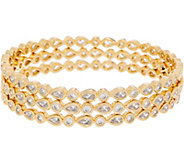 Melinda Maria Set of Three Bangle Bracelets - Taylor - J352170