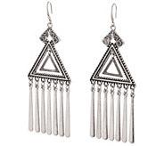 Linea by Louis DellOlio Inca Triangular Earrings - J354070