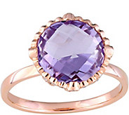 14K 4.00 ct Amethyst & 1/5 cttw Diamond Cocktail Ring - J379170
