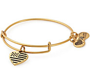 Alex and Ani Heart Flag Bangle - J382370