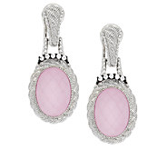 Judith Ripka Sterling Gemstone Doublet Drop Earrings - J292071