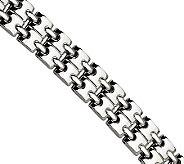 Forza 8-1/2 Polished Stacked Link Bracelet - J304571