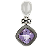 Michael Dawkins Sterling Silver 4.00 ct Amethyst Enhancer - J319871