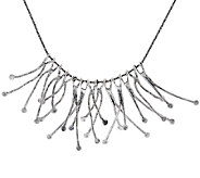 Sterling Silver Branch Statement Necklace by Or Paz - J320571