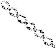 Carolyn Pollack Sterling Silver Signature Large Link Large Bracelet 44.0g - J325571