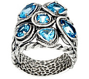 Or Paz Sterling Silver 3.00 cttw. Mutli-cut Gemstone Ring - J331471
