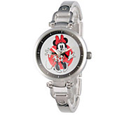 Disney Minnie Mouse Womens Bracelet Watch - J342271