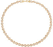 Arte d Oro 18 Diamond Cut Bead Omega Necklace, 18K Gold, 20.2g - J349171