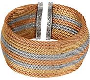 ALOR Stainless Steel Wide Cuff Bracelet - J352271