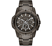Caravelle New York Mens Chronograph Gunmetal Watch - J375971