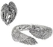 Scott Kay Sterling Silver Guardian Angel Cuff or Ring - J55971