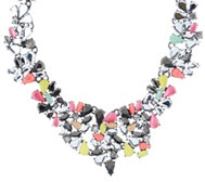 "LOGO Links by Lori Goldstein 17"" Collar Necklace with"