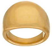 As Is Oro Nuovo Polished Tapered Band Ring, 14K - J328572