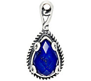 Carolyn Pollack Gemstone Doublet Sterling Silver Charm - J329572