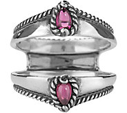 Carolyn Pollack Possibilities Rhodolite GarnetRing Guard - J377372