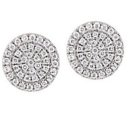 Affinity 14K 3/10 cttw Diamond Round Stud Earrings - J383672