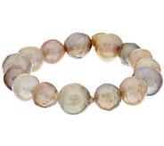 Honora Ming Cultured Pearl 6-3/4 Stretch Bracelet - J291573