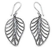 Novica Artisan-Crafted Sterling Natures GiftEarrings - J303873