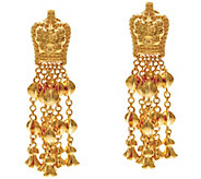 The Elizabeth Taylor Goldtone Ear Pendants - J330273