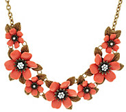 As Is Joan Rivers Mixed Blossoms 18 Statement Necklace - J332873