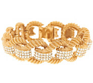 As Is Joan Rivers Ltd. Ed. Classic Elegance Pave Link Bracelet - J333473