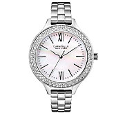 Caravelle New York Womens Stainless Steel Bracelet Watch - J336573
