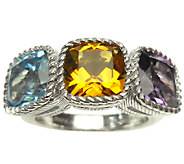 Judith Ripka Sterling 6.00cttw Multi-Gemstone Ring - J339373