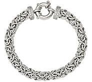 Sterling Byzantine 7-1/2 Bracelet, 16g by Silver Style - J375873