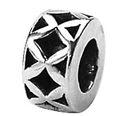 Prerogatives Sterling X Spacer Bead - J108674