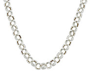Sterling 18 Bold Polished Rolo Link Necklace, 42.0g - J290774