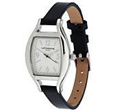 Liz Claiborne New York Thin Leather Strap Watch - J290874