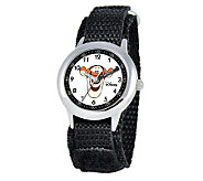 Disney Tigger Stainless Steel Time Teacher Watch - J308274